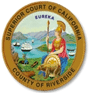 Superior Court of California - County of Riverside badge